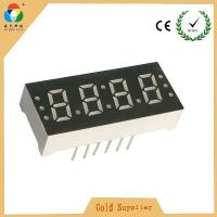 Buy cheap Wholesale price super red 4 digits led 7 segment numeric display for led clock with CC & CA from wholesalers