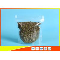 China Clear Stand Up Zipper Pouch wholesale
