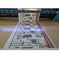 China One Way Vision Custom Waterproof Stickers , Car Window Advertising Stickers wholesale