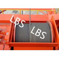 China High Efficiency Carbon Steel Tower Hoist Winch With Lebus Grooved Drum wholesale