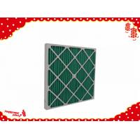 China 592x592x22mm Cardboard dispoable panel minipleat air filter g4 wholesale