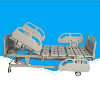 China Folding Electric Hospital Bed 500 - 780mm Bed Up / Down With Compound ABS Head on sale