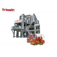 2000kg Tomato Ketchup Production Line / Tomato Catchup Making Machine High Power