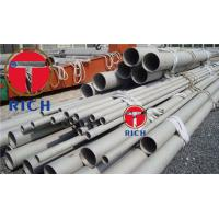 China Incoloy 825 Grade Nickel Alloy Tube , Inconel 625 Alloy Seamless Pipe Astm B444 wholesale