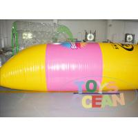 China Durable Inflatable Water Sport Game Jumping Blob Outdoor Water Toys For Adults wholesale