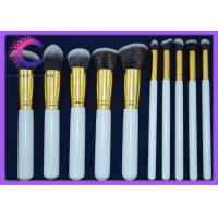Quality Soft  hair 10 piece makeup brush sets synthetic essential kit with  Personalized custom logo for sale