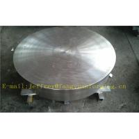 China P355QH EN10273 Carbon Steel Forged Disc  PED  Export To Europe 3.1 Certificate Pressure Vessel Blank Flange wholesale