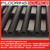 Quality Heavy duty PVC tube matting dry quickly resist slip changing room around pool for sale