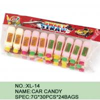 China Different Color Healthy Candy Sugar Powder Novelty Car Shape Eco - Friendly wholesale