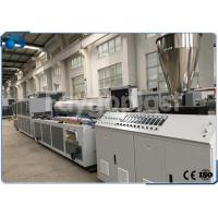 China Automatic Plastic Profile Production Line Extrusion Machine For PVC / WPC Raw Materials wholesale