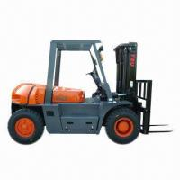 China Diesel Forklift Truck with 5T Rated Loading Capacity wholesale