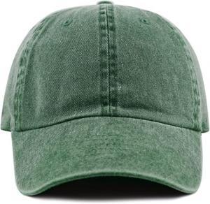 China Wholesale vintage custom embroidery unstructured 6 panel washed baseball hat wholesale