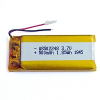 China KPL502248 500mAh 3.7 V Lithium Polymer Battery Within 1C Rate wholesale