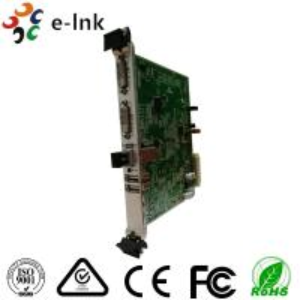 China 10G SFP+ Port 5U Rack Card Type 4K 3840*2160/60P DVI Video to Fiber Converter wholesale