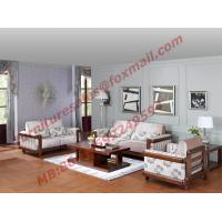 China High Quality 1+2+3 Wooden Sofa Set from Shenzhen Right Home Furniture in Shenzhen China wholesale