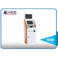 China 19 Inch Interactive Dual Screen Cash Kiosk Machines With Key Board , 6.5ms Response wholesale