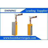 Buy cheap Intelligent Road Automatic Boom Barrier Gate , Vehicle Access Gate Barriers from wholesalers