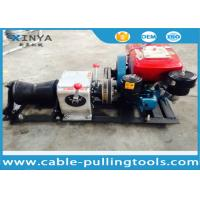 Buy cheap Power Construction Cable Winch Puller With Water Cooled Diesel Engine from wholesalers