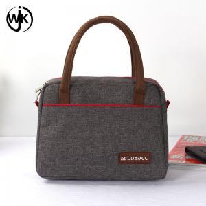 China Wholesale new design small women bags Guangzhou factory latest handbag different printing oxford lady handbag wholesale