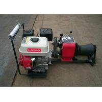 China 1 Ton Load Capacity Compact Gasoline Engine Cable Pulling Winches Puller For Cranes wholesale