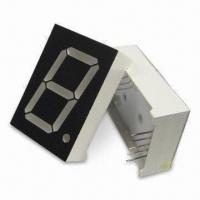 China 1.0-inch 25.4mm Multiplex PO Clock Single-digital 7 Segment LED Displays, Comes in Various Colors wholesale