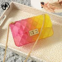 China China supplier pvc lady shoulder bag cheap price sling bags hot sell factory popular rubber jelly bag wholesale