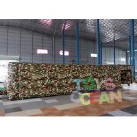China 0.55mm PVC Material Inflatable Large Maze Inflatable Paintball Playground wholesale