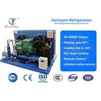 China Air Cooled Bitzer Piston Condensing Commercial Refrigeration Units For Carrot Freeze Room wholesale