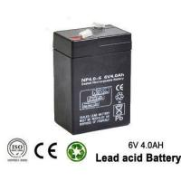 China 6v 4ah Rechargeable Emergency Light Lead acid battery for UPS , lighting wholesale