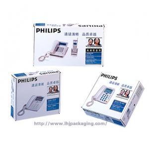 China cardboard  display box, carton box ,telephone display box wholesale