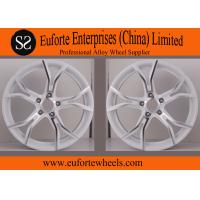 China SS Wheels-Audi 18 inch White Lightweight Forged Wheels / Forging Wheels wholesale