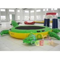 Inflatable Tortoise Water Trampoline For Water Entertainment