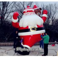 4.5m Height Inflatable Santa Claus for Outdoor Christmas Promotion