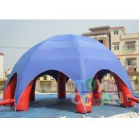 China Trade Show Events Inflatable Spider Tent Six Legs For Advertising Promotion wholesale