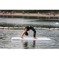 China Fire Retardant Material Inflatable Yoga Mat For Physical Training High Strength wholesale