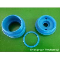 China Blue POM Plastic Machined Parts , OD 52 Spacer Ring / Plastic Washers on sale