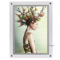 Quality Aluminum 20mm Profile Snap Poster Frame With mitred Corner for sale