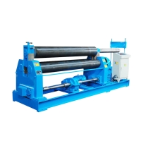 China W11-8*2000 Three-Roll Mechanical Symmetrical Plate Rolling Machine on sale