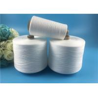 Wholesale Raw white Ring Spun 100 Spun Polyester Yarn 60s / 2 Well sewing function from china suppliers