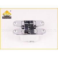 China Timber Door Adjustable Hinge 180 Degree Open Door Hinges Invisible Type on sale