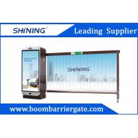 China Smart RFID Reader Entrence Advertising Barriers 3.2m With CE Certificated wholesale