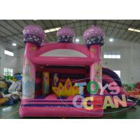 China Popular Happy Pink Princess Combo Bounce House For Girls Party wholesale