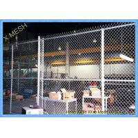 Buy cheap 11 Gauge Chain Link Fence Fabric , 50 Foot Chain Link Privacy Screen For from wholesalers