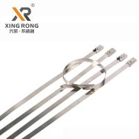 Buy cheap Xingrong self-lock type  SS304 stainless steel cabe tie XR-C10*600 for shipbuilding from wholesalers