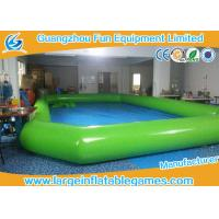 China Plato PVC Inflatable Water Pool Swimming Pool For Water Walking Ball wholesale