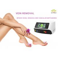 China Laser Leg Spider Veins Removal , Laser Vein Treatment With Touch Screen wholesale