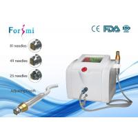 China Portable skin maintenance microneedle nurse system  80W power 5Mhz frequency wholesale