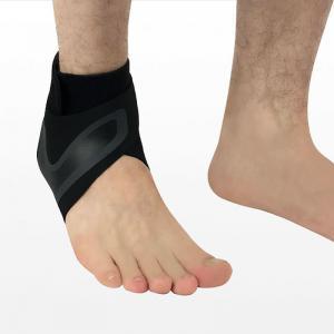 China Adjustable Breathable Elastic Gym Ankle Bandage Brace Compression Sleeve for Sports wholesale