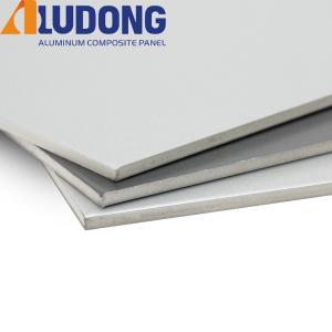 China White Core 6mm Aluminium Composite Panel PVDF Coating wholesale