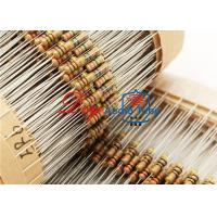 China Surface Mounting Metal Oxide Resistor , Non Inductive Resistor 4 Color Code Marking wholesale